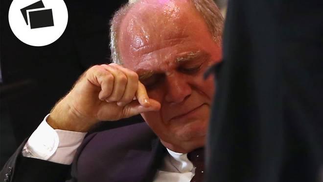 Uli Hoeneß kamen 2013 bei der Jahreshauptversammlung des FC Bayern die Tränen