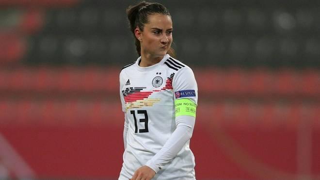 Sara Däbritz fehlt gegen Frankreich und Chile