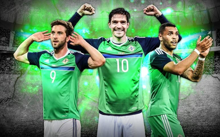 Deutschland trifft im letzten Gruppenspiel auf einen außergewöhnlichen Gegner. Nordirland mischt die EM mit ausgeflippten No-Names auf - und versucht, die dunkle Vergangenheit zu vergessen