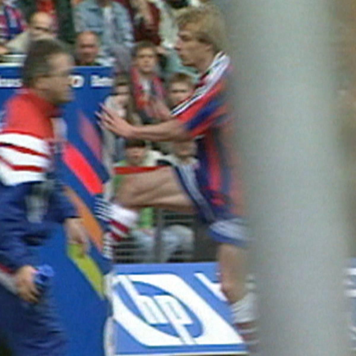 Klinsmann und der legendäre Tonnentritt