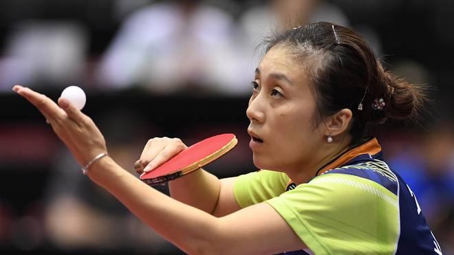Ying Han spielt für Deutschland bei der Tischtennis-EM