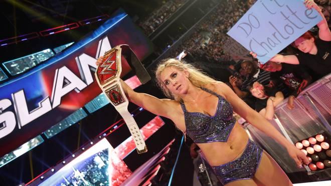 WWE-Star Charlotte gewann beim SummerSlam zum zweiten Mal den Frauentitel