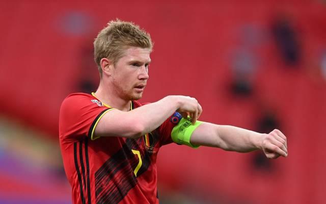Gegen England führte Kevin De Bruyne die belgische Nationalmannschaft noch als Kapitän auf den Platz