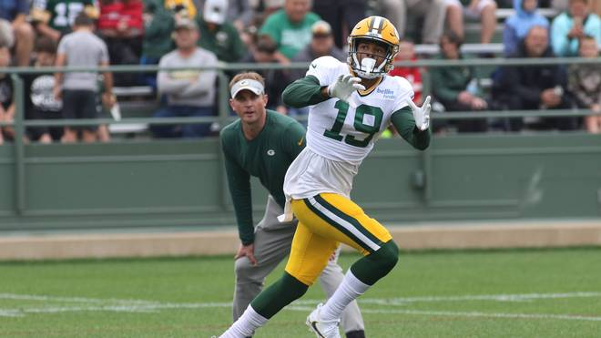 Equanimeous St. Brown kommt bei den Packers in Fahrt