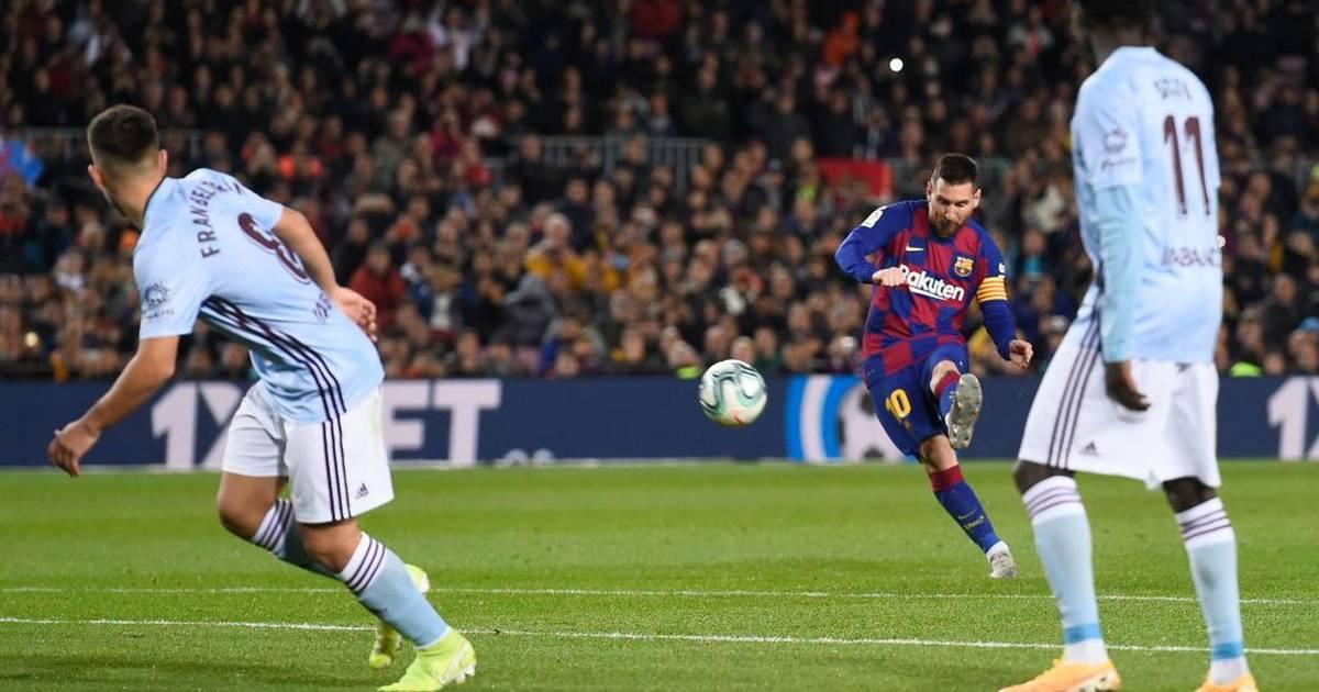 Lionel Messi vom FC Barcelona bei Freistößen besser als Manchester United bei Elfmeter - SPORT1
