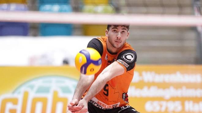 Timothee Carle spielt für die Berlin Recycling Volleys