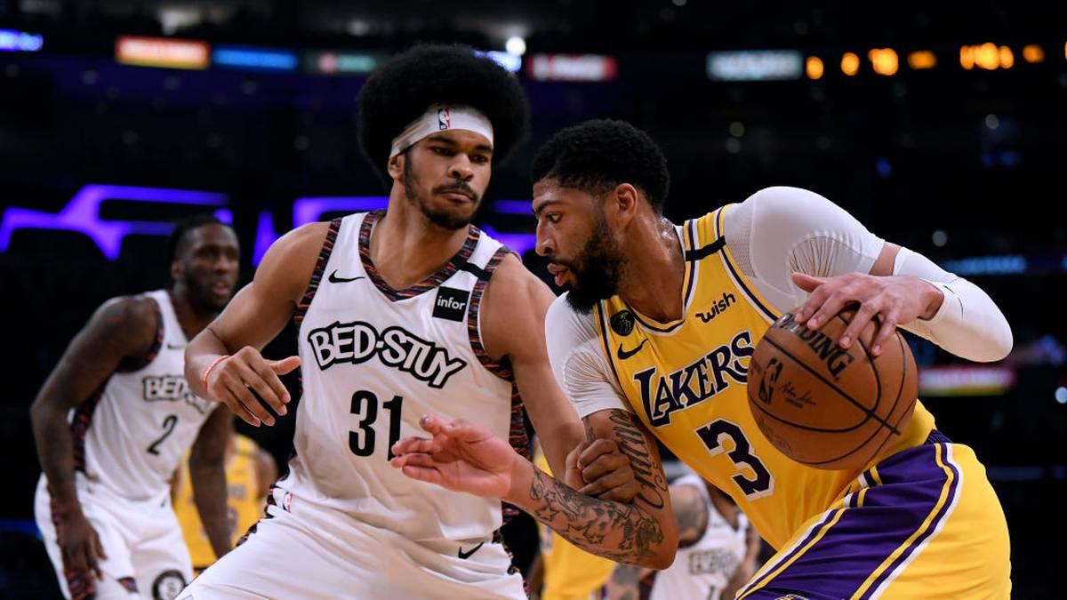 Last-Second-Drama! Lakers-Pleite im Krimi gegen Nets