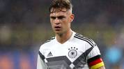 DORTMUND, GERMANY - OCTOBER 09:  Joshua Kimmich of Germany looks on during the International Friendly match between Germany and Argentina at Signal Iduna Park on October 09, 2019 in Dortmund, Germany. (Photo by Martin Rose/Bongarts/Getty Images)