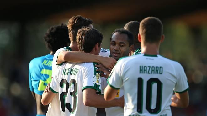 DFB-Pokal: Borussia Mönchengladbach schlägt BSC Hastedt mit 11:0