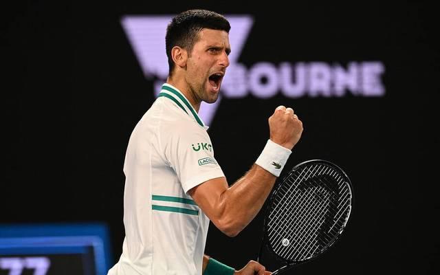 Novak Djokovic steht im Endspiel