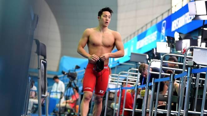 Seto Daiya ist Japans Schwimmstar und Olympia-Hoffnung