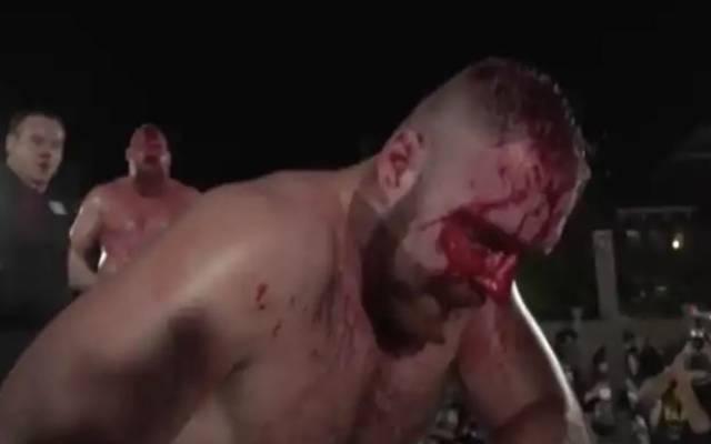 Jon Moxley ging im Kampf gegen Josh Barnett an die Grenze