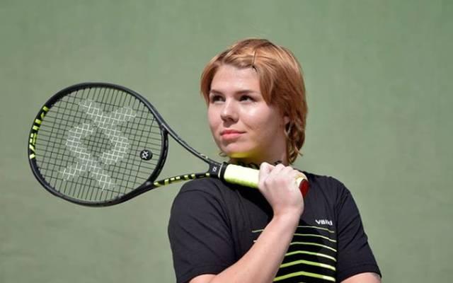 Oleksandra Oliynykova hat für ein Novum im Tennis-Sport gesorgt