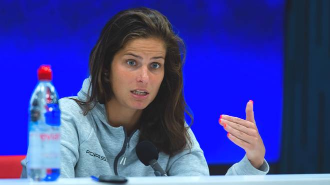 Julia Görges kam bei den US Open im Einzel noch nie über das Achtelfinale hinaus