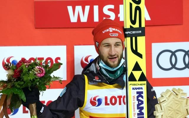 Markus Eisenbichler war siegreich beim Weltcup-Auftakt