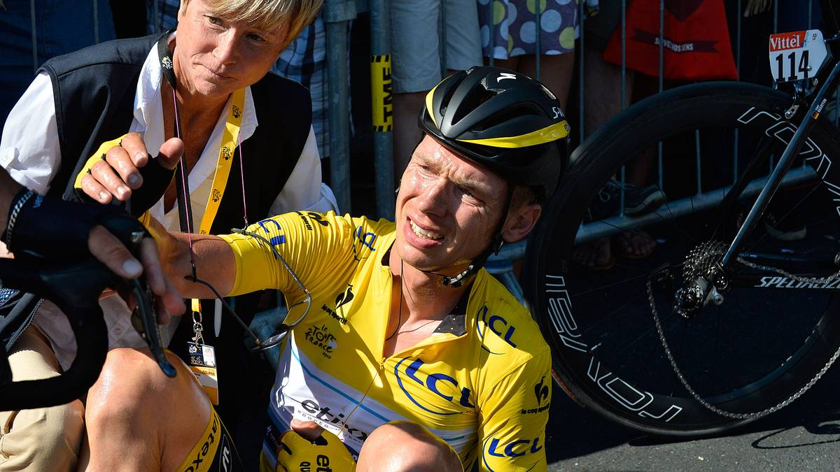 Tony Martin musste bereits die Tour 2012 verletzt aufgeben