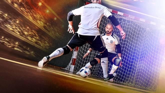 Premiere für die deutsche Futsal-Nationalmannschaft