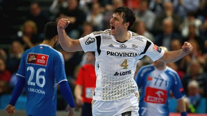Domagoj Duvnjak ist mit zehn Treffern bester Werfer des THW Kiel