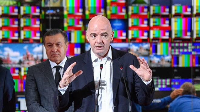 Gianni Infantino will Rassismus in Russland vorbeugen
