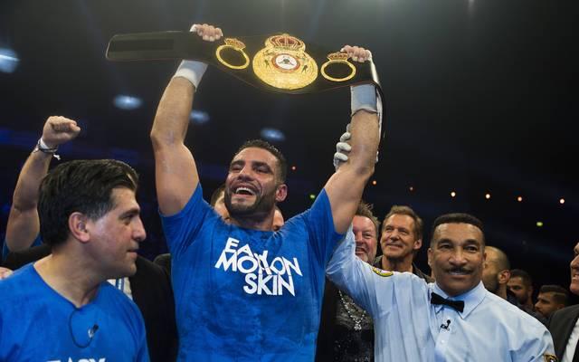 Manuel Charr ist Schwergewichts-Weltmeister der WBA
