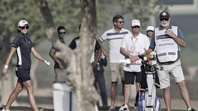 Anne-Lise Caudals Caddie Max Zechmann (r.) kam bei den Ladies Masters in Dubai ums Leben