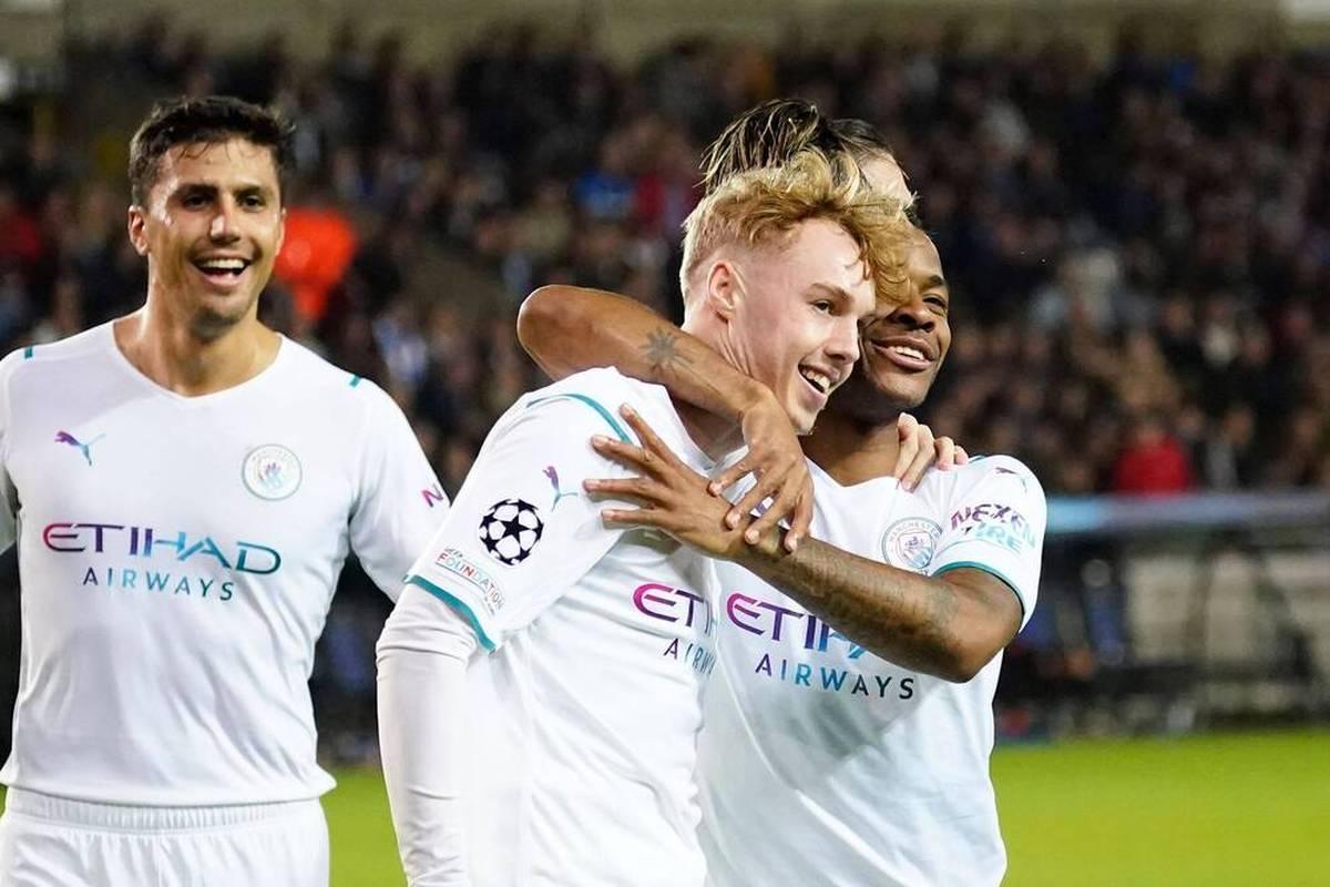 Manchester City ließ in der Champions League beim FC Brügge nichts anbrennen - und Cole Palmer feierte dabei seine Tor-Premiere