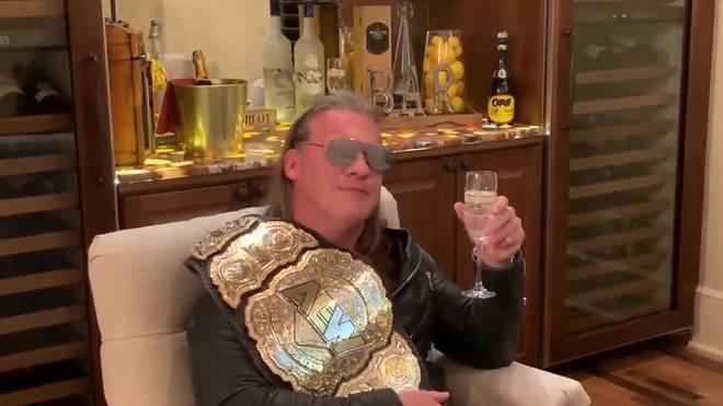 Chris Jericho hat seinen gestohlenen AEW-Titelgürtel wieder