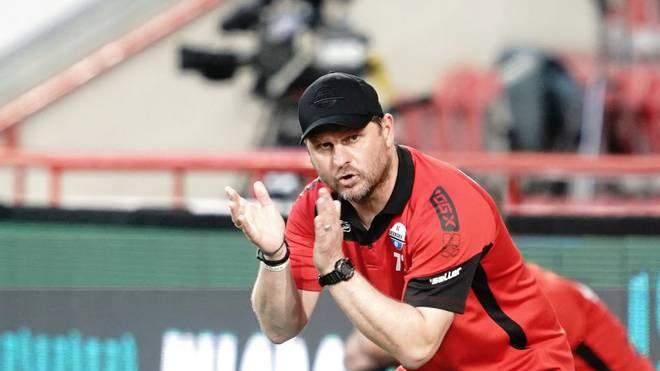 Steffen Baumgart gelang es nicht, den SC Paderborn in der Bundesliga zu halten