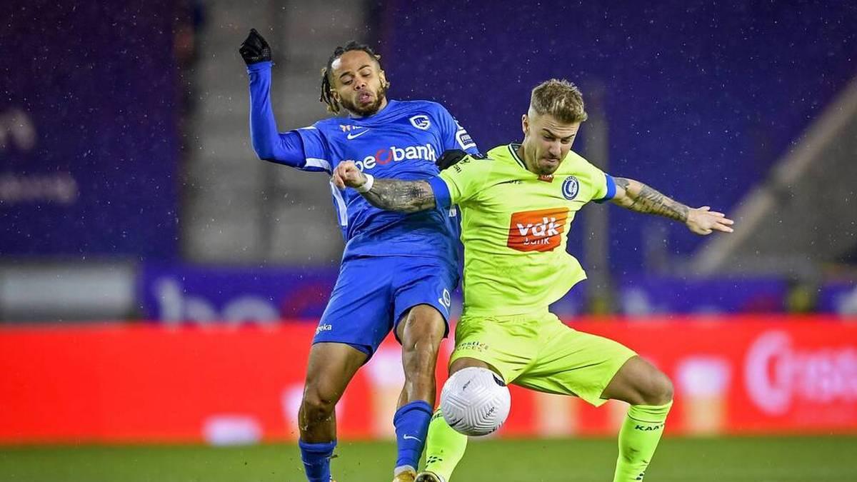 Niklas Dorsch (r.) spielte zuletzt für KAA Gent in Belgien