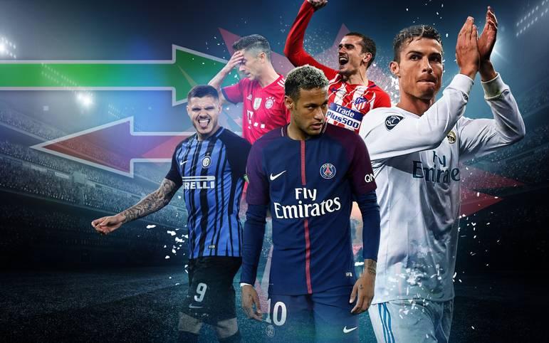Der heißeste Transfer-Sommer aller Zeiten steht bevor - 2018 könnten zahlreiche Stars wie Robert Lewandowski, Antoine Griezmann und Cristiano Ronaldo wechseln. SPORT1 zeigt, welche Deals gehandelt werden.