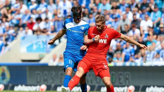 FC Magdeburg gegen 1. FC Köln