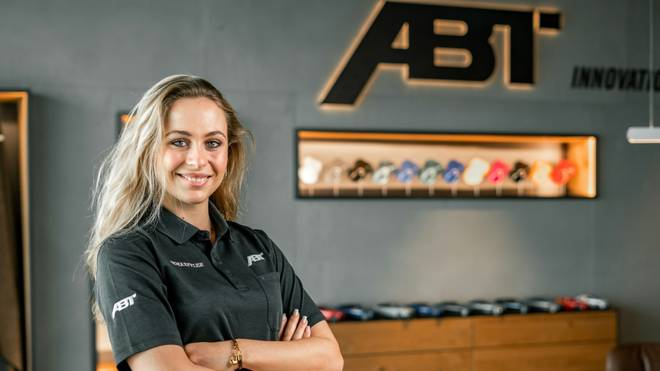 Sophia Flörsch startet in der DTM für das Team Abt
