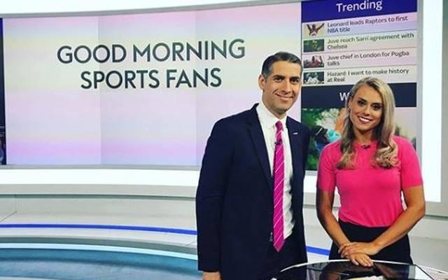 Emma-Louise Paton ist eine Moderatorin bei Sky Sport News UK