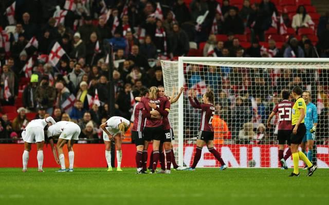 Dfb Frauen Mit Last Minute Sieg Gegen England Bei Wembley