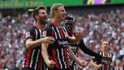 Martin Hinteregger (M.) gehört zu den Leistungsträgern bei Eintracht Frankfurt