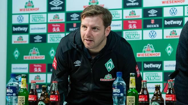 Werder-Coach Florian Kohfeldt vor dem Duell gegen Heidenheim