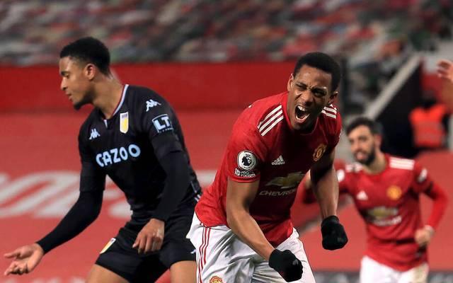 Anthony Martial brachte Manchester United in Führung