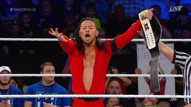 Shinsuke Nakamura besiegte bei WWE Smackville Ali statt Finn Balor