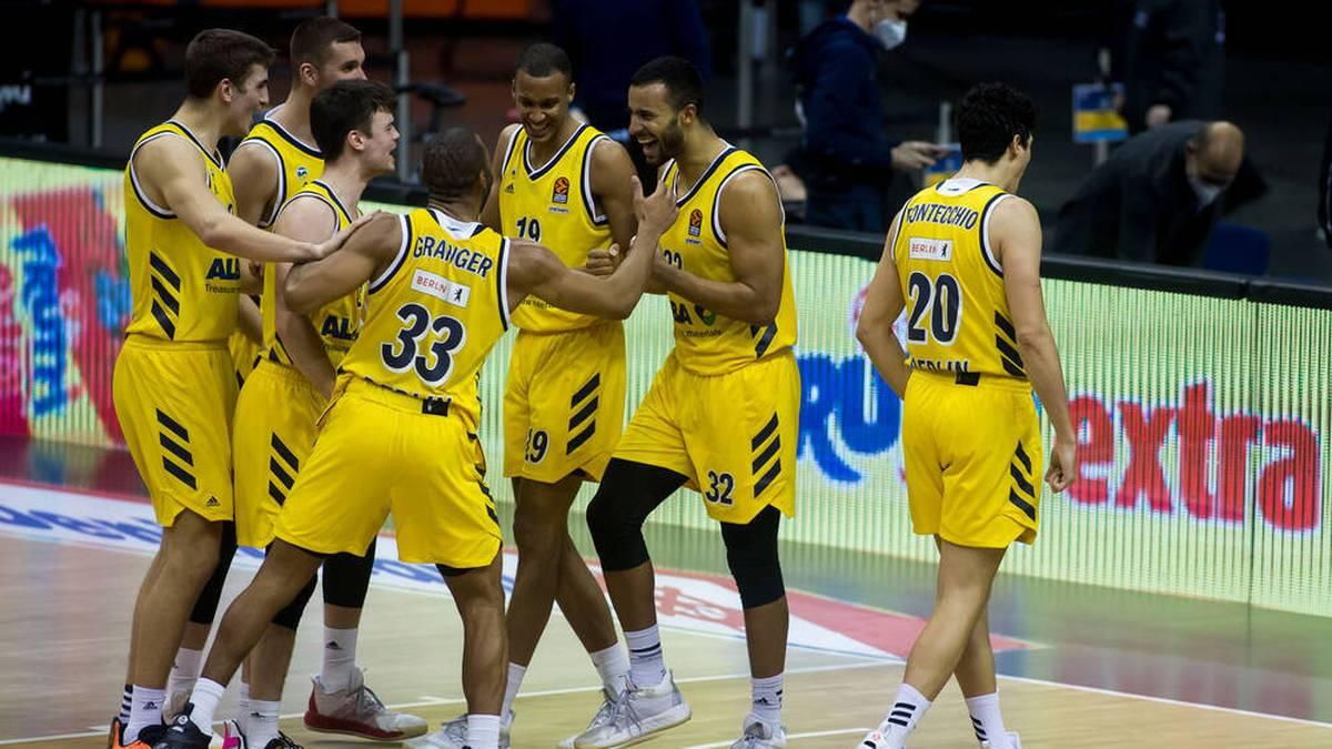 ALBA Berlin beendet die Niederlagenserie in der EuroLeague