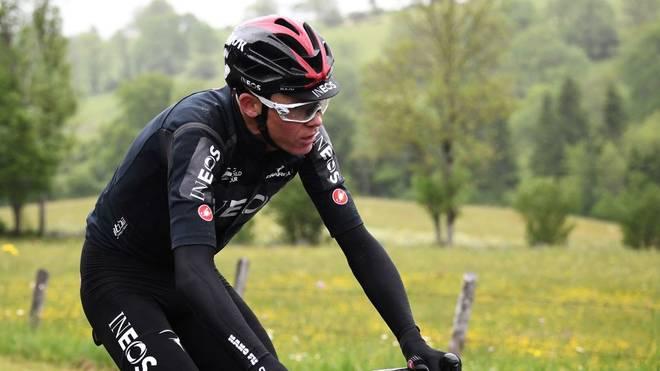 Christopher Froome will bald zurück sein auf dem Rad