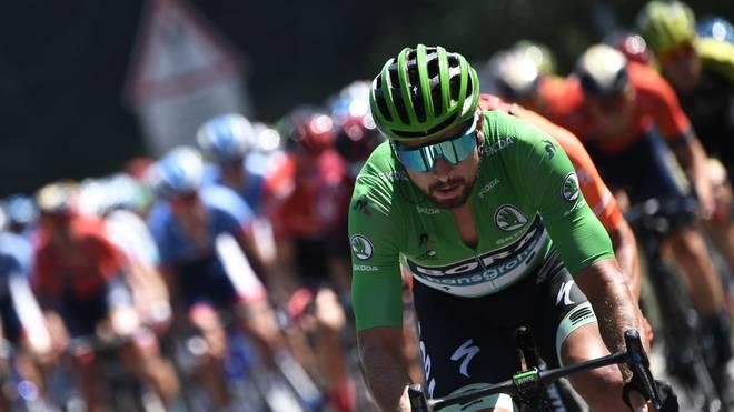 Peter Sagan gewann sieben Mal die Punktewertung der Tour de France