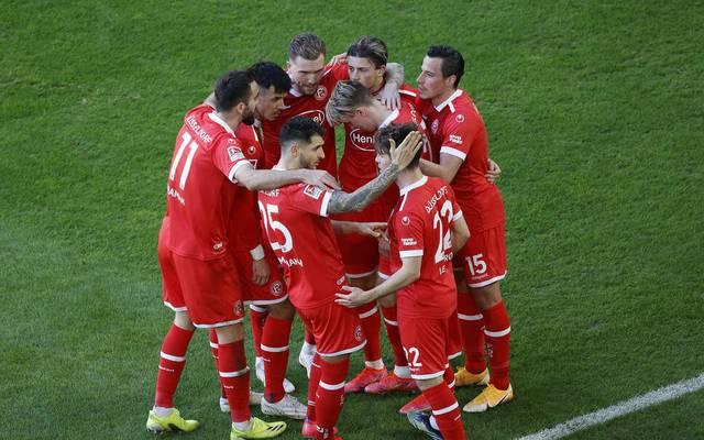 Im letzten Heimspiel siegte Düsseldorf gegen Hannover