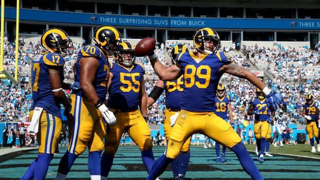 Die Los Angeles Rams standen in der vergangenen Saison im Super Bowl
