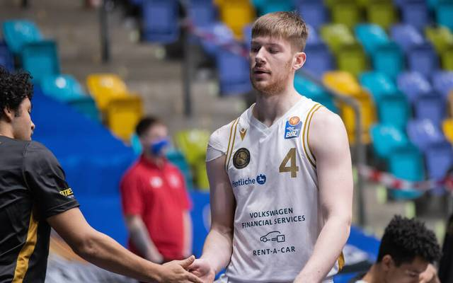 Luc van Slooten ist Teil des Kaders der Basketball Löwen Braunschweig