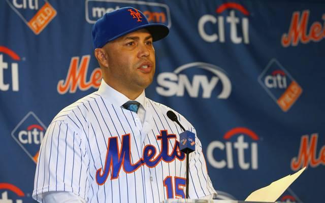 Ist nicht länger Manager der New York Mets: Carlos Beltran