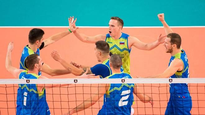 Slowenien zieht nach dem Sieg über Polen ins Endspiel der Volleyball-EM 2019 ein