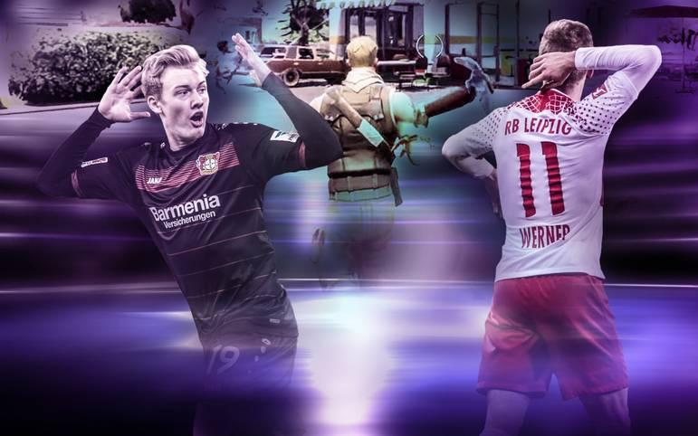 Das Fortnite-Fieber hat viele Sportstars wie Julian Brandt und Timo Werner gepackt. Bei Toren wird dann gerne mal eine Geste aus dem Survival-Shooter ausgepackt. Dabei ist nicht nur die Bundesliga Teil des Phänomens Fortnite