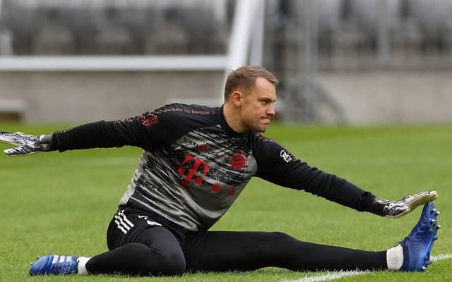 """Manuel Neuer ist heiß auf das """"Derby"""" - und trotzdem die Ruhe selbst"""