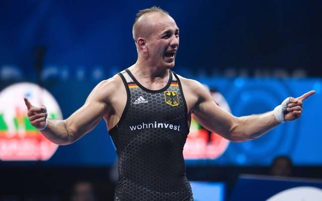 Frank Stäbler kämpft um den EM-Titel
