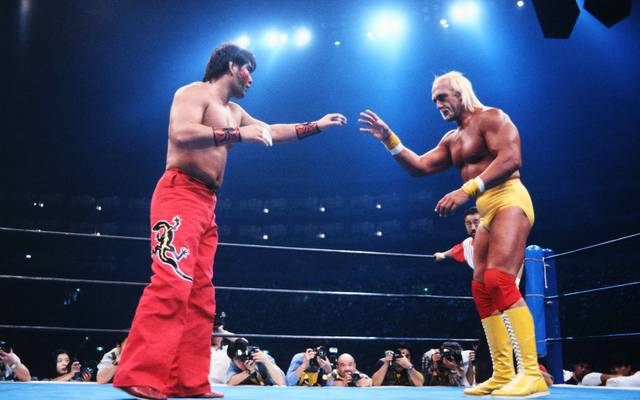 Hulk Hogan traf 1993 bei NJPW auf Japan-Idol The Great Muta